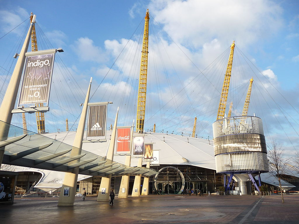 The_O2_Arena_entrance